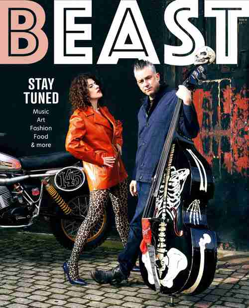 Blast Cult UK on the Cover of Beast Magazine