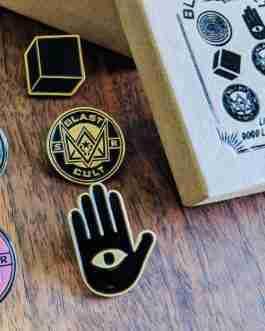 Blast Cult Pins – Set of 6