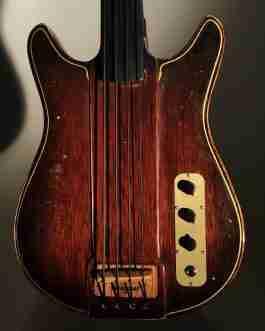 Gateway Mahogany Relic Bass