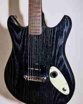 Magic 13 Electric Guitar – Black Deity