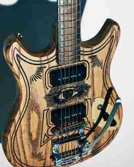 Custom Blast Cult Magic13 Electric Guitar x London Design