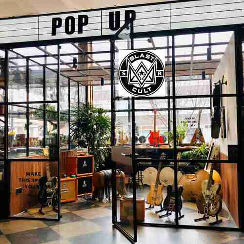 Blast Cult Guitar Pop Up Shop X Mare Street Market