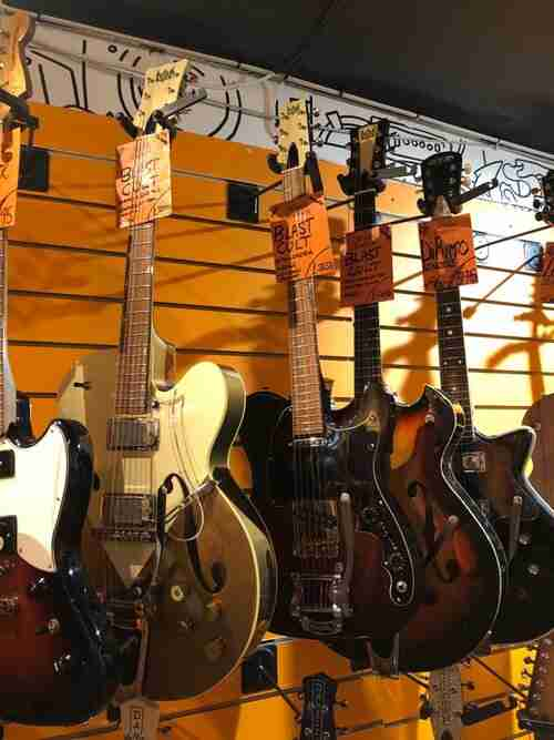 Find our Guitars and Basses in Wunjo Guitars on Denmark St